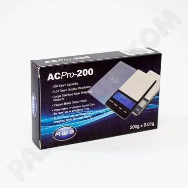 AWS ACPro-200 Pocket Scale 200g x .01g
