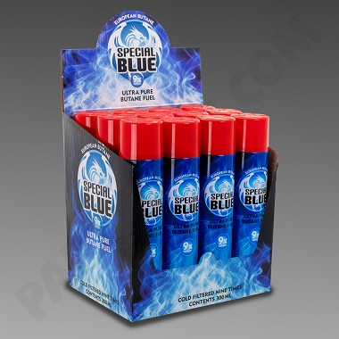 BUTANE: Case of Special Blue 9X 12 Cans of 300ml, Price Includes Shipping (Ground Ship ONLY)