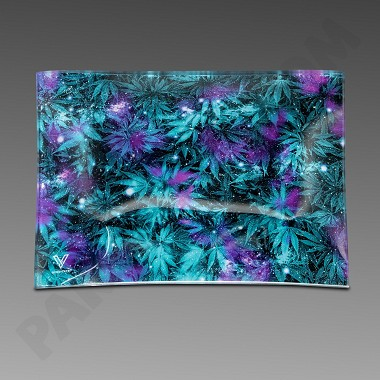 Glass Tray Small Cosmic Chronic by V Syndicate