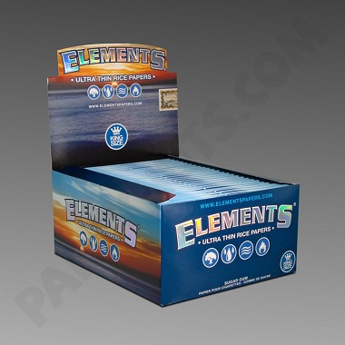 Elements King Size Ultra Thin Rolling Papers