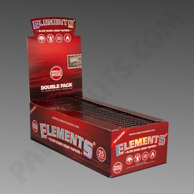 Elements Hemp Single Wide Ultra Thin Rolling Papers