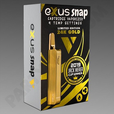 Exxus Snap VV Gold Concentrate Vaporizer *Limited Edition*