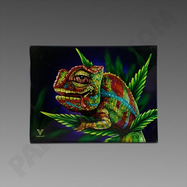 Glass Tray Small Cloud 9 Chameleon by V Syndicate