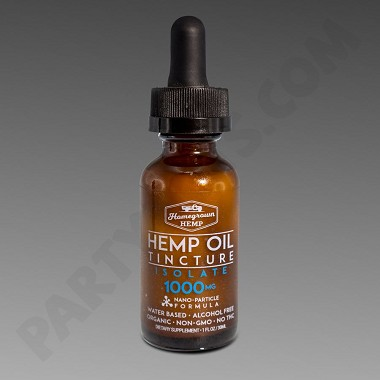 Homegrown Hemp Water Base 1000mg Isolate 30ml Tincture