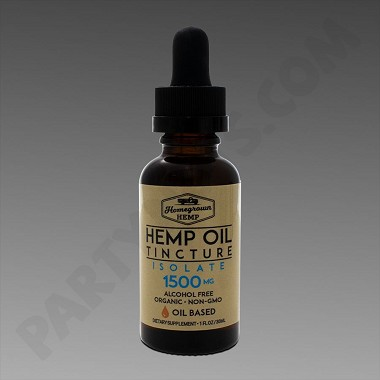 HomeGrown Hemp Oil Base 1500mg Isolate 30ml Tincture