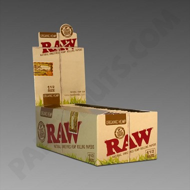 Raw Organic Hemp 1 1/2 Rolling Papers