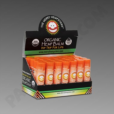 The Merry Hempsters - Organic Hemp Balm - Orange 28 pk