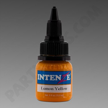 Intenze Ink 1/2oz Lemon Yellow