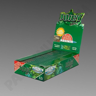 Juicy Jay's 1 1/4 Absinth Flavored Papers