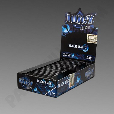 Juicy Jay's 1 1/4 Black Magic Flavored Papers