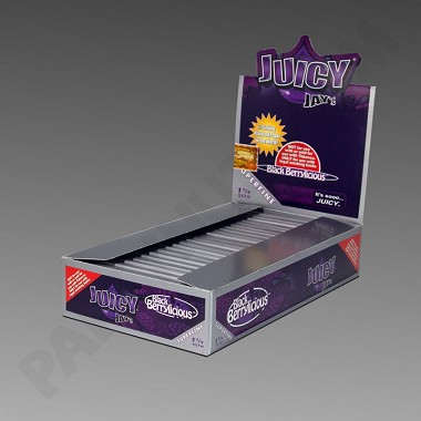Juicy Jay's 1 1/4 Black Berrylicious Superfine Flavored Papers
