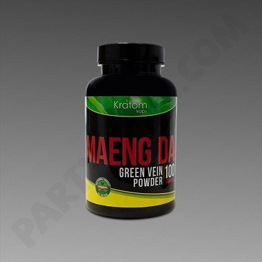 Kratom Kaps - Maeng Da 100g Powder in Bottle