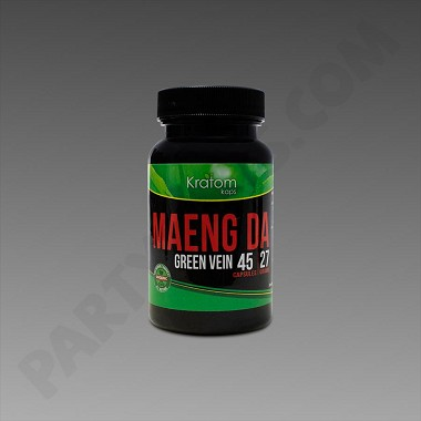 Kratom Kaps - Maeng Da 27g, 45 Count Bottle