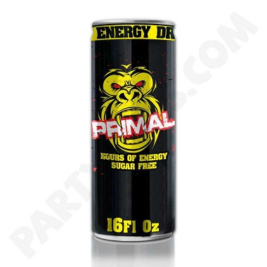 Primal Energy Drink 16 oz Bottle x 24 ct per Case