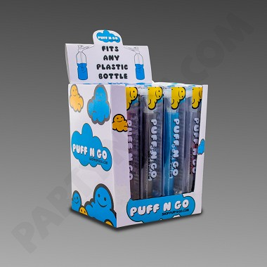 Puff N Go - Portable Top - 12ct Display