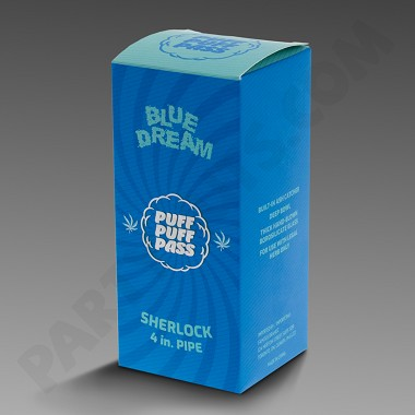 "Puff Puff Pass 4"" Sherlock Blue Dream"