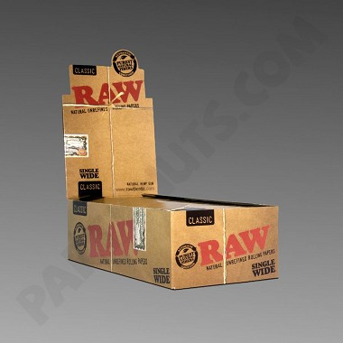 Raw Unrefined Single Wide Rolling Papers