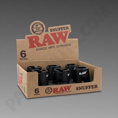 Raw Magnetic Snuffer 6 Pk