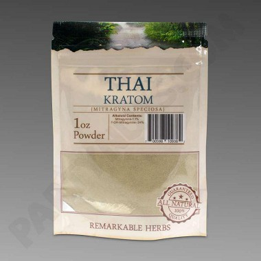 Remarkable Herbs Kratom Thai Powder 1 oz