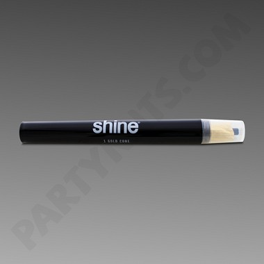 Shine 24K Gold King Size Cone Single
