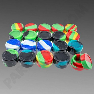 Silicone Jar 32mm 20pk (11 Colors to Choose From)