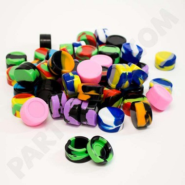 Silicone Jar 32mm 100pk (11 Colors to Choose From)