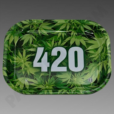Rolling Tray Small Green 420