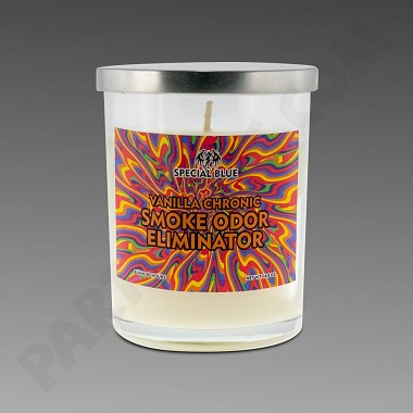 Special Blue Vanilla Chronic Candle 13oz