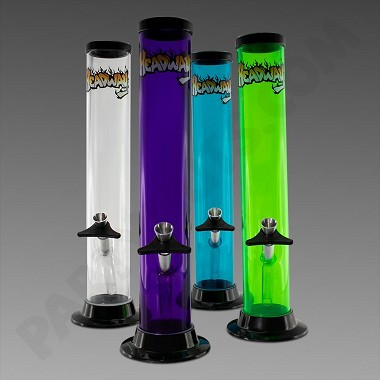 "Headway Water Pipe 12"" Straight - Acrylic"
