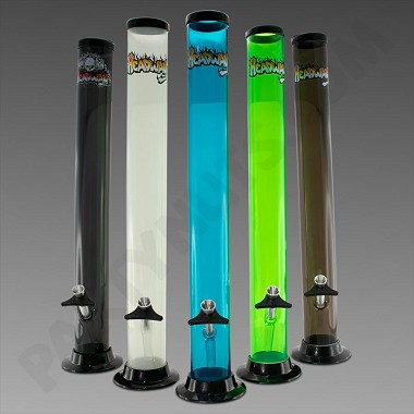 "Headway Water Pipe 18"" Straight - Acrylic"