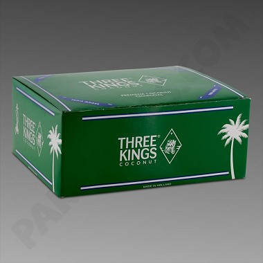 Three Kings Coconut Charcoal 10ct