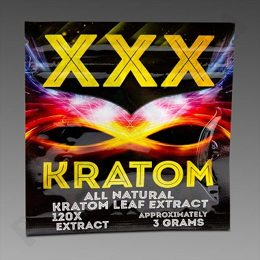 XXX Kratom 3g All Natural Extract - 5 Capsules (Upcharges may apply, see description.)