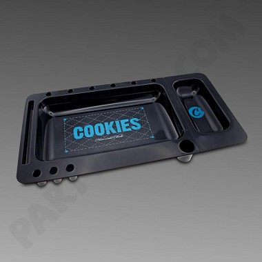 Cookies Black Rolling Tray