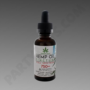 Green Leaf Tincture 750mg Full Spectrum 30ml Water Based