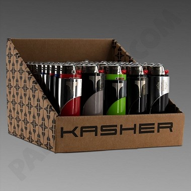 Kasher with Bic Lighter 50ct (Ground Ship ONLY)