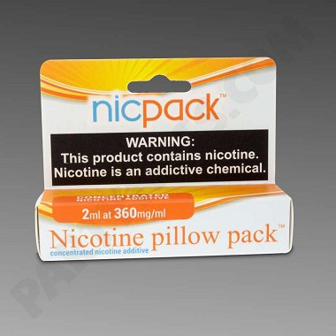 NicPack 2ml 360mg/ml