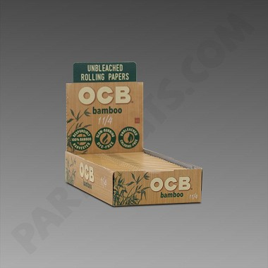 OCB Bamboo 1 1/4 Papers (Unbleached)