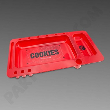 Cookies Red Rolling Tray