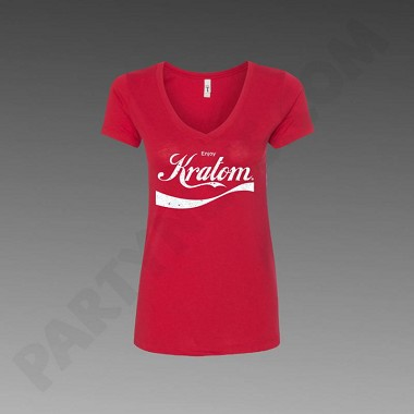 Red Enjoy Kratom Women's T-Shirt (choose size)