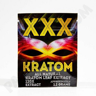XXX Kratom 1.2g All Natural Extract (2 capsules) upcharges may apply, see description.